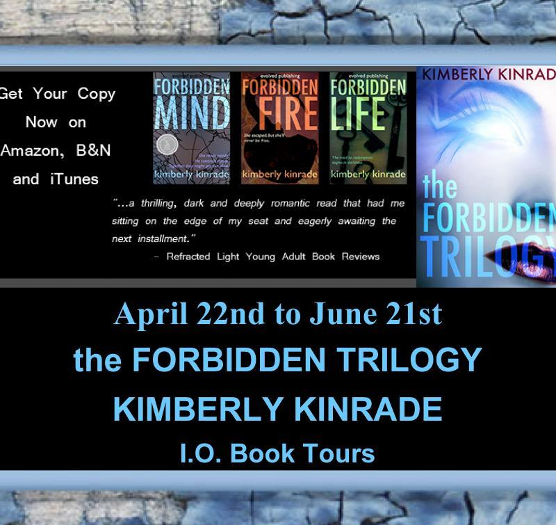 'Celebrate the Small Things' With 3 #Reviews: Kimberly Kinrade's Forbidden Trilogy #paranormalromance #YA