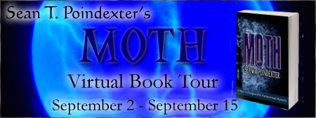 "Sean T. Poindexter: ""Top 5 Questions I Get Asked About Moth"" #ParanormalMystery #Giveaway"
