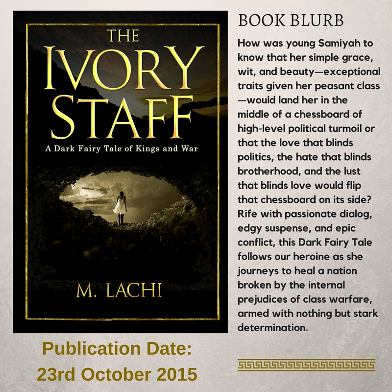 The Ivory Staff by M. Lachi #EpicFantasy #DarkFantasy