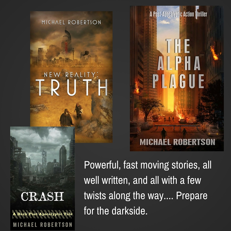 My new #author swoon, Michael Robertson, writes intense, dark fiction. Read all about him here. #Amreading #Review