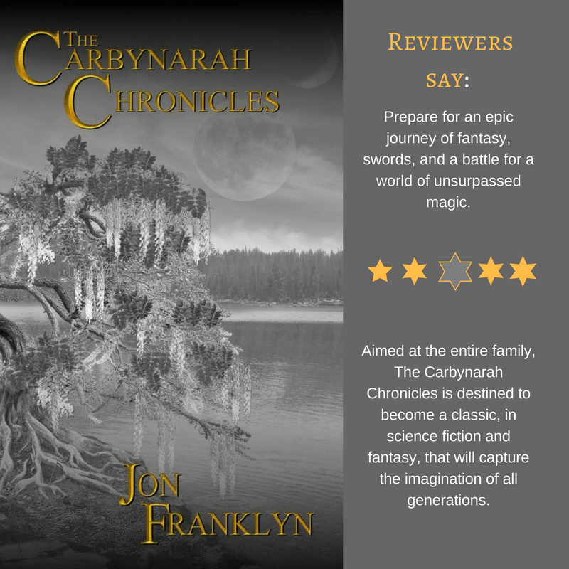 The Carbynarah Chronicles, Book 1 #EpicFantasy #FantasyFiction