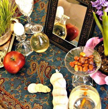 My 'Haft Seen' Healthy Tips for Navroz