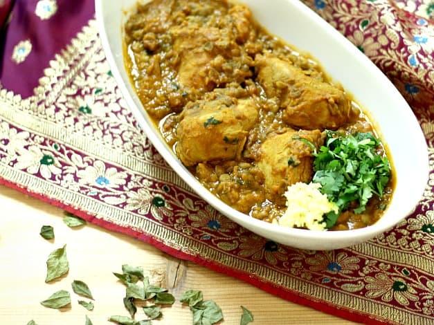 Chicken Dhansak - 'Queen' of Daals!
