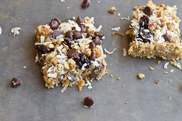 Soft Baked Oatmeal Chocolate Chip Bars by Kristina LaRue, RD, CSSD