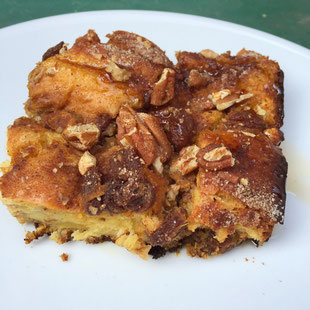 Baked Butternut Squash French Toast by Amy Gorin, MS, RDN, owner of Amy Gorin Nutrition (www.amydgorin.com) in Jersey City, NJ