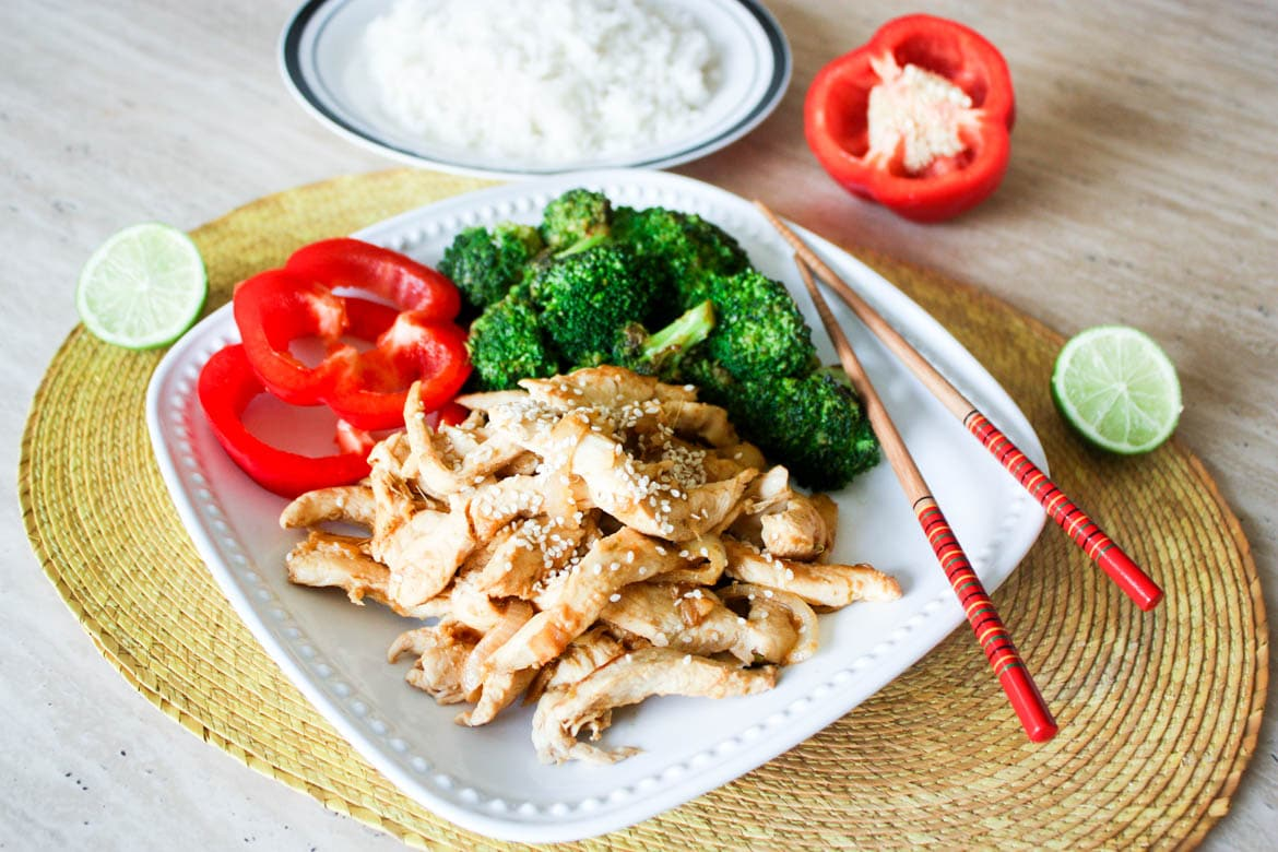ginger lime chicken broccoli