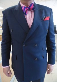 pink and blue striped silk bow-tie  This is a blog about ...