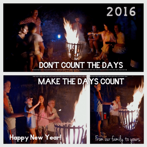 Happy New Year. Welcome, 2016!