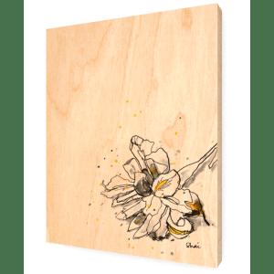 Iris Ink - Wood Print