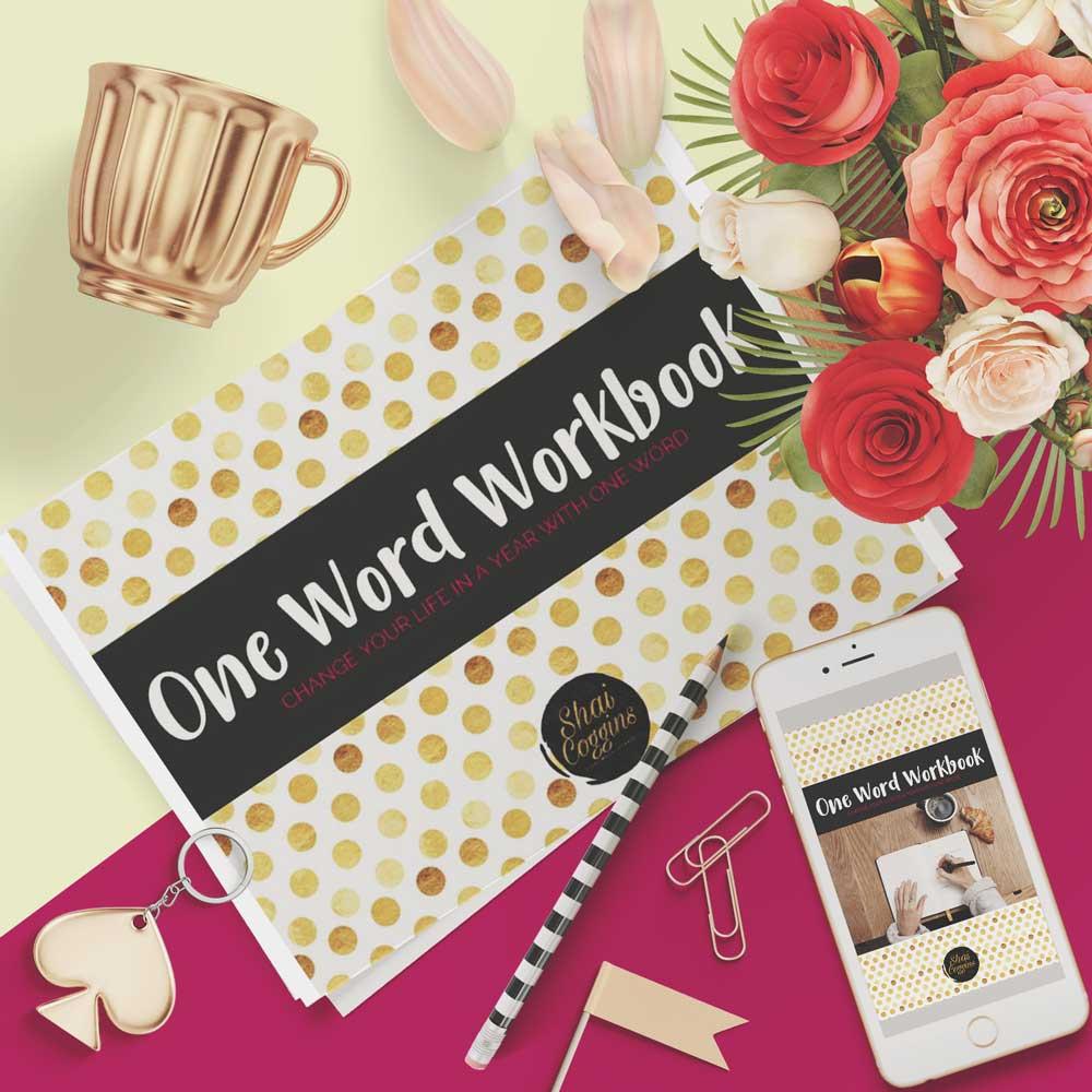 one word workbook   one word projects mini ebook