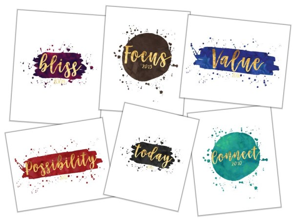 One Word - Custom Digital Printable