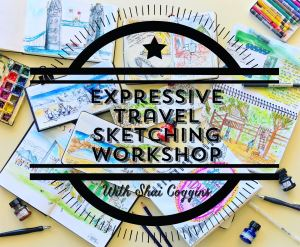 Expressive Travel Sketching Workshop - Adelaide