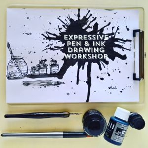 Expressive Pen and Ink Drawing Workshop