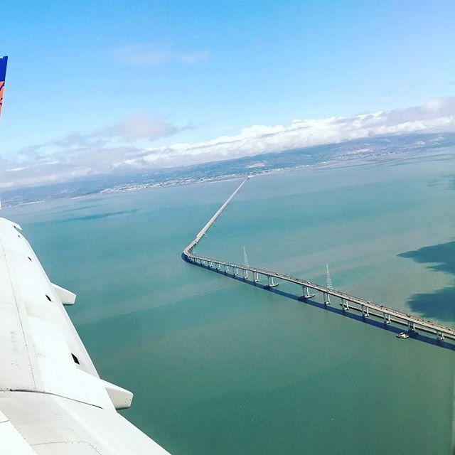 A warm welcome to SFO city! #sea #bridge #view