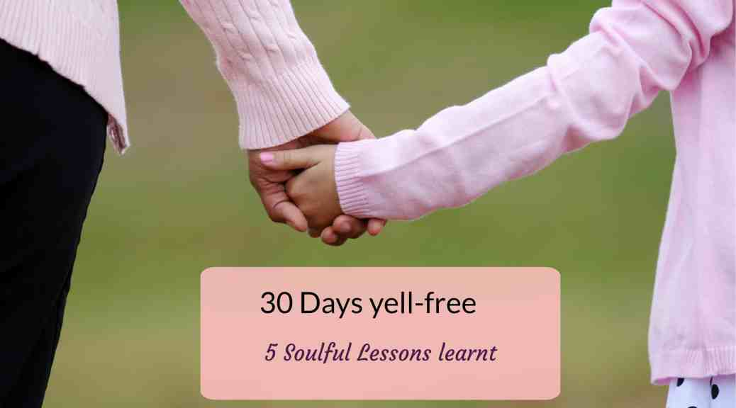 Yelling at our kids causes them to withdraw from us. In my yell-free challenge that lasts 30 days, I learnt 5 important lessons that can help with being a more positive parent. #ParentingTips #PositiveParenting #YellingLess #YellFree #ParentingTips