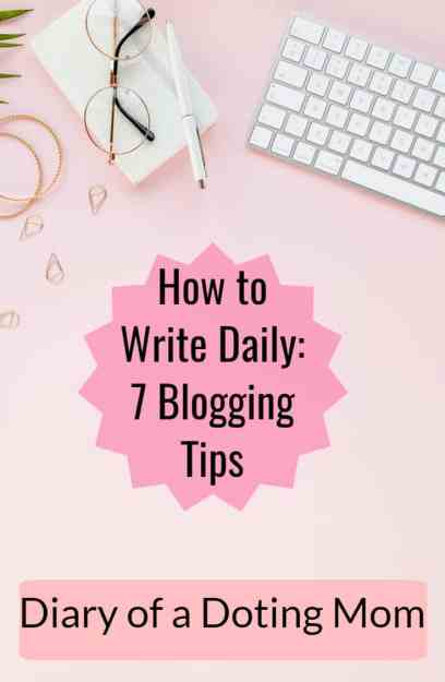 Do you want to blog regularly and find yourself falling off the wagon each time? Find yourself distracted? In this post, I share 7 simple tips on how to write daily. Blogging this way can help build your brand and audience.