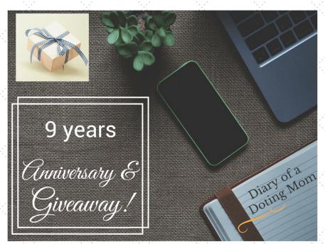 Anniversary_Giveaway_Shailaja_Diary of a doting mom
