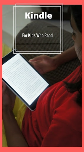 Kids who love to read, Kindle for Kids, #StartAStory