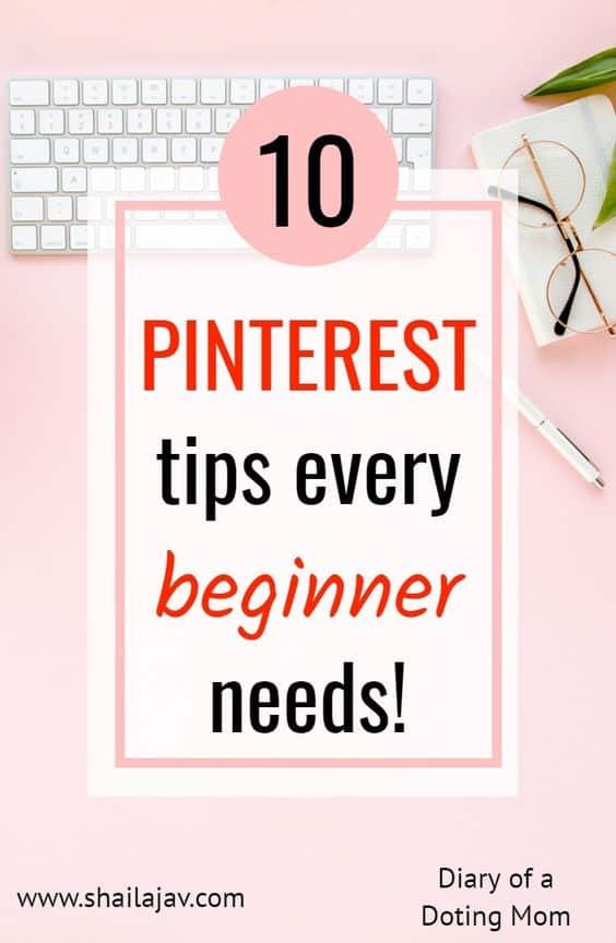 Pinterest Tips for beginners