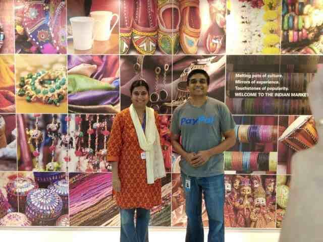 With Mr Guru Bhat_Head of PayPal India Bangalore