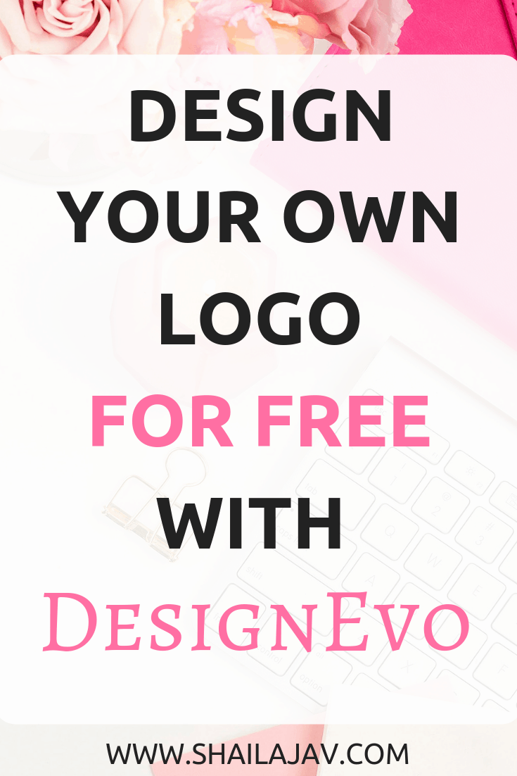 Are you looking for designers to create a logo for your brand or business? How about a website where you can do it on your own? And in under 15 minutes? Plus, it's free! Yes, that's right. Check out my review of DesignEvo and why you should use it to build your own logo. #Shailajav #Branding #Design #Blogging #Logo
