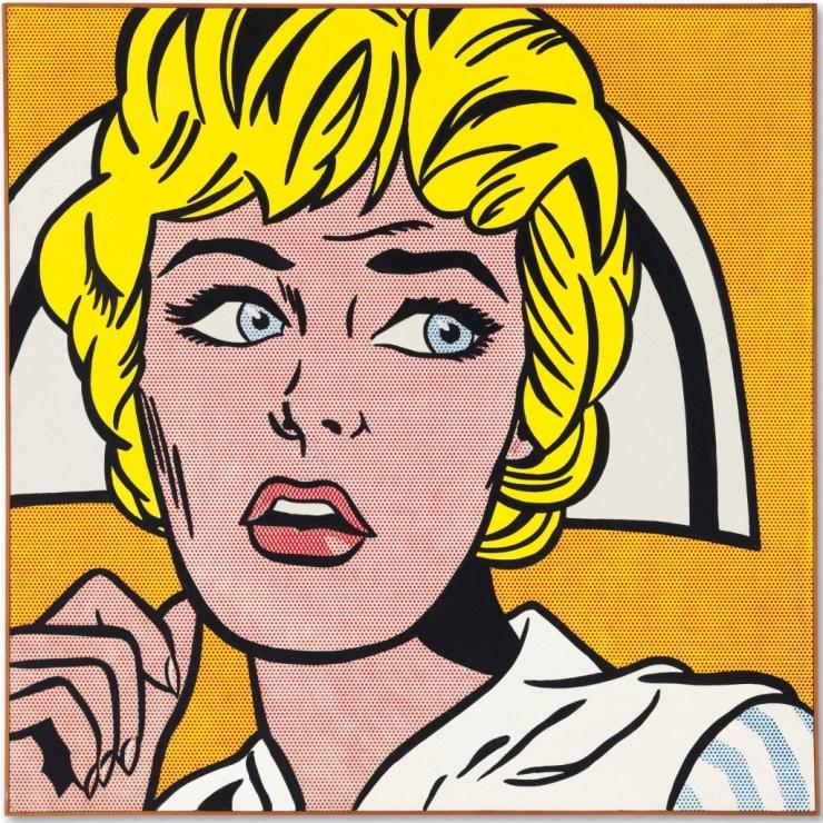 Roy Lichtenstein, Nurse (1964) - Subastas de Arte
