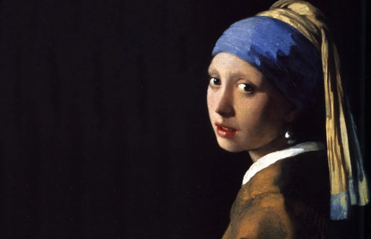 Vermeer - The Girl with the Pearl Earring - www.shairart.es