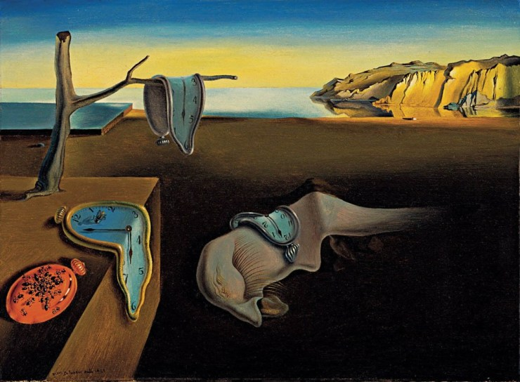 Salvador Dali - The Persistence of Memory - Famous Oil Paintings- www.shairart.com