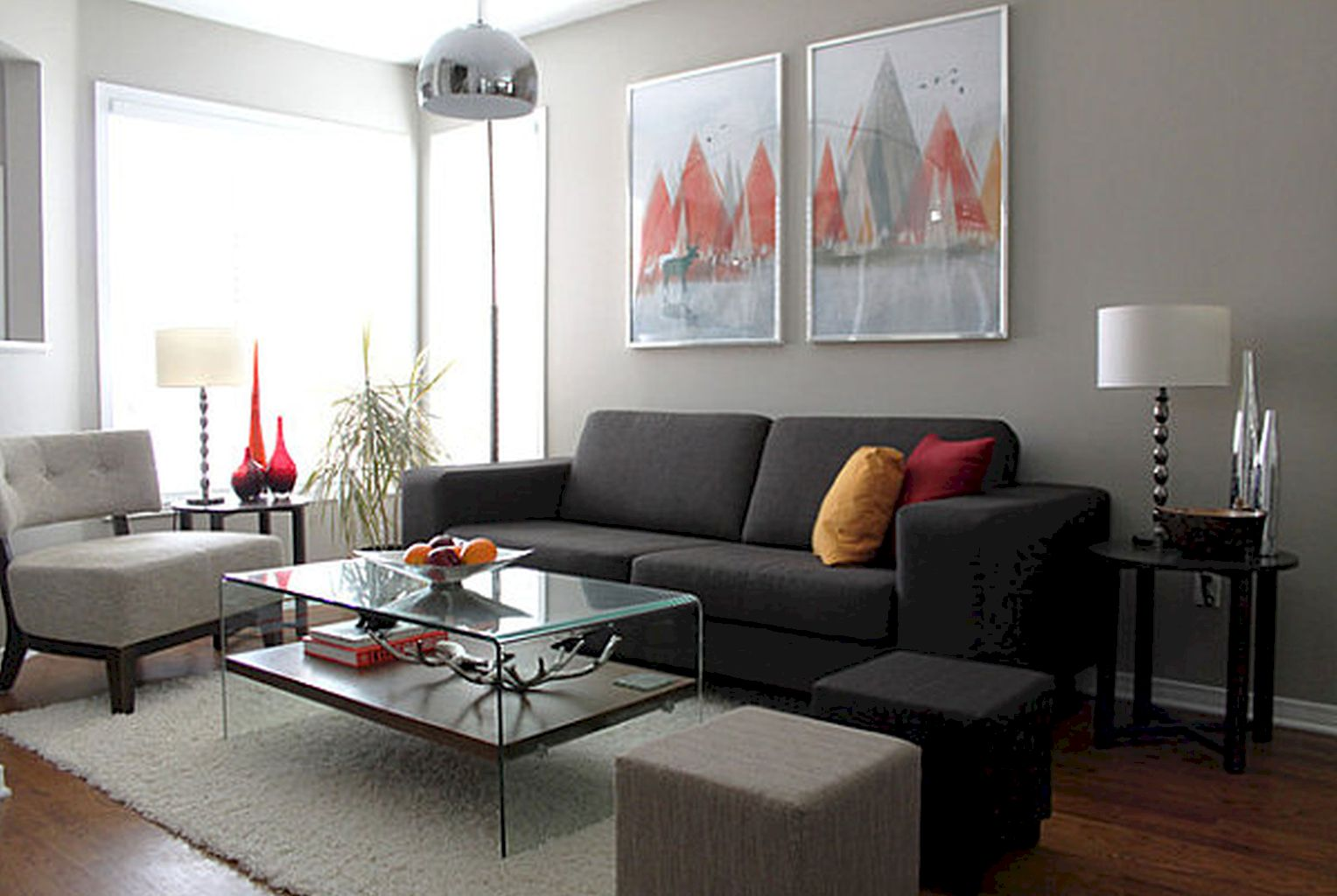 DIY Apartment Living Room Layout and Decor Part 12