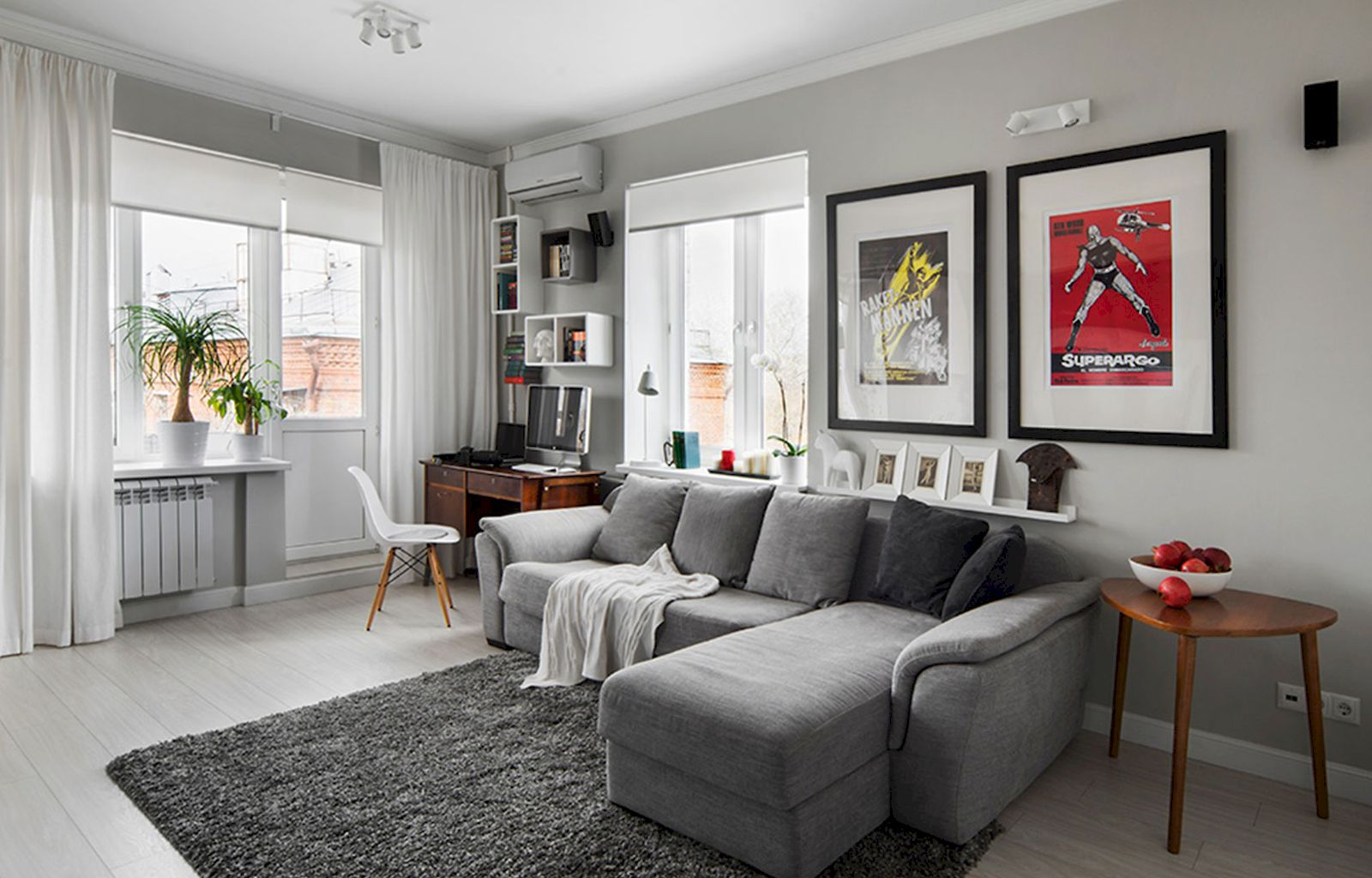 DIY Apartment Living Room Layout and Decor Part 20