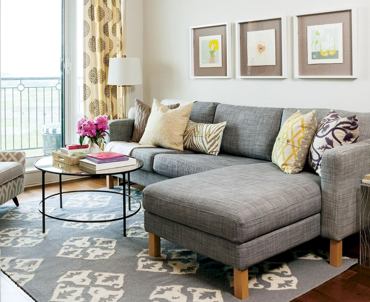 DIY Apartment Living Room Layout and Decor Part 4