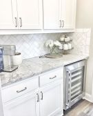 Herringbone Kitchen Backsplash for DIY decor Part 23