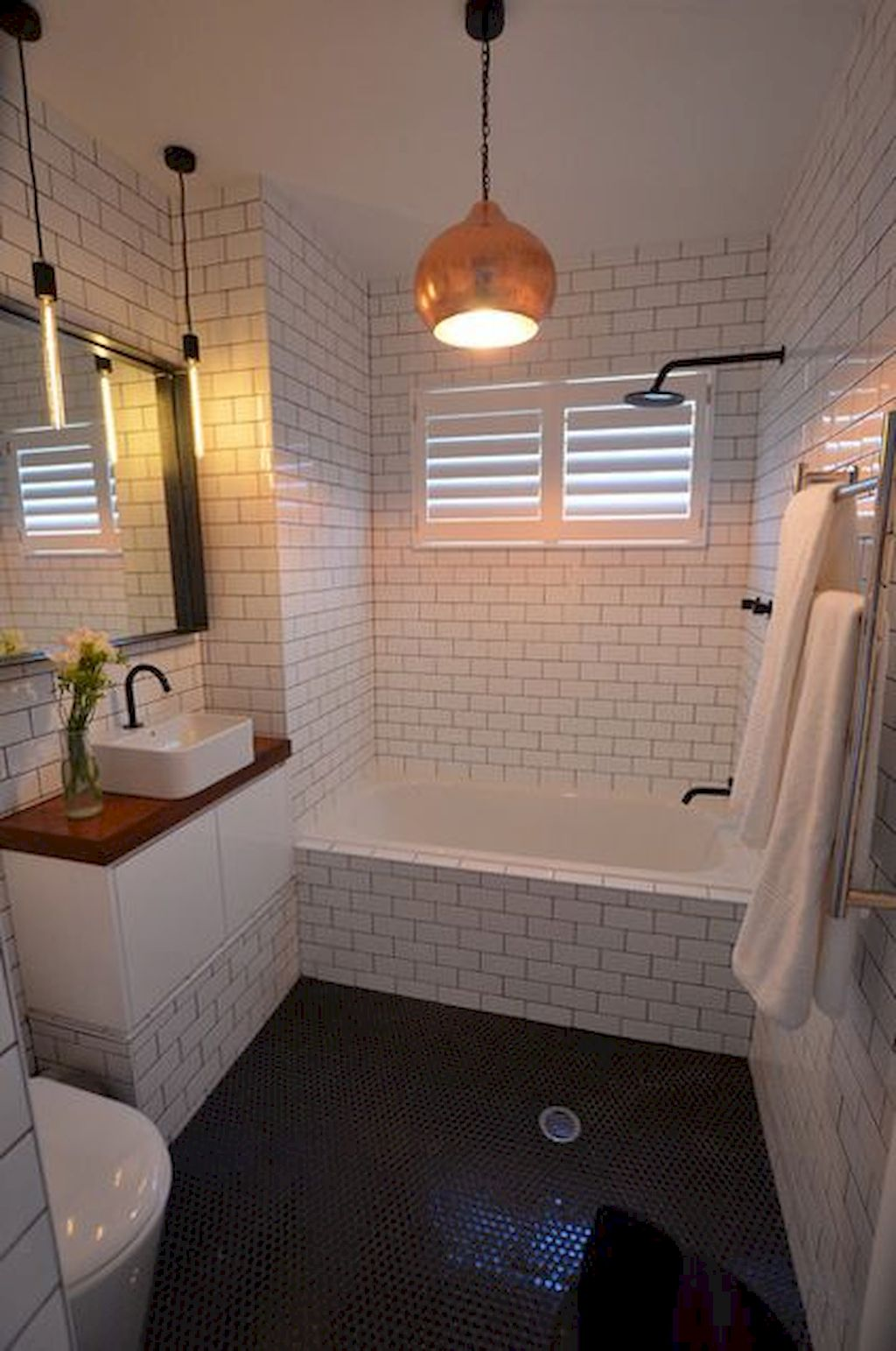 Tiles Ideas for Small Bathroom (14)