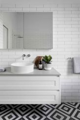 70+ Tiles Ideas for Small Bathroom - Get more Ideas in our gallery | #smallbathroom #bathroomdecoration #bathroomideas #bathroomtiles #bathroomdecor #homedecor (34)
