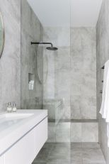 70+ Tiles Ideas for Small Bathroom - Get more Ideas in our gallery | #smallbathroom #bathroomdecoration #bathroomideas #bathroomtiles #bathroomdecor #homedecor (95)