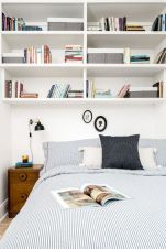Simple tips for low budget bedroom makeover with classy curtain design and inspiring reading spot. Bedroom Makeover Idea Part 17