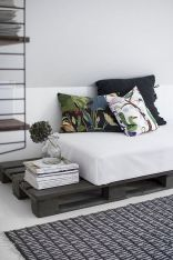 Simple tips for low budget bedroom makeover with classy curtain design and inspiring reading spot. Bedroom Makeover Idea Part 33