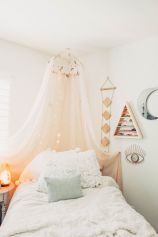 Simple tips for low budget bedroom makeover with classy curtain design and inspiring reading spot. Bedroom Makeover Idea Part 43