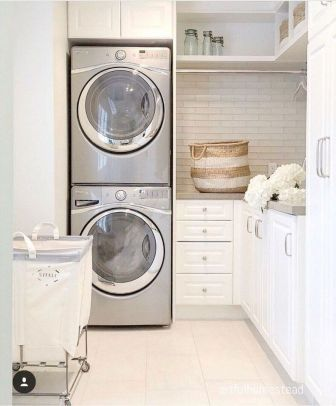 55 Best Small Laundry Room Photo Storage Ideas (13)