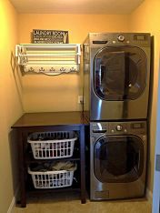 55 Best Small Laundry Room Photo Storage Ideas (28)
