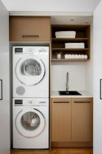 55 Best Small Laundry Room Photo Storage Ideas (49)