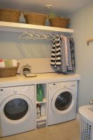 55 Best Small Laundry Room Photo Storage Ideas (9)