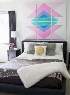 Awesome Small Bedroom Decorating Ideas On A Budget (24)