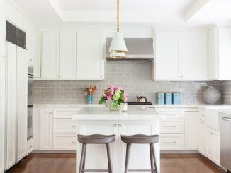 Bright Kitchen with White Kitchen Concept that Never Look Boring Part 3