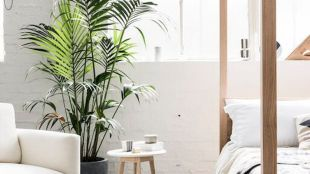 Minimalist Scandinavian Bedroom Concept in Maximum Brightness and Cleaness Part 48