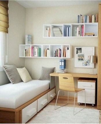 On Budget Single Bedroom Designs with Ultra Comfort and Lively Vibes Part 27