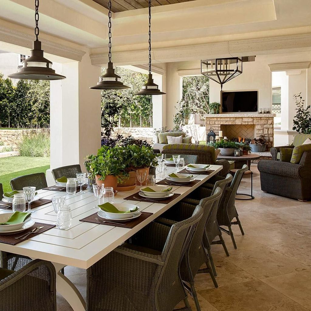 Back porch design ideas that perfect for every home as special space to make it anything you want Part (7)