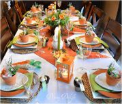 Charming Easter centerpieces and springy table decor ideas to get your Easter party hopping Part 11