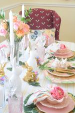 Charming Easter centerpieces and springy table decor ideas to get your Easter party hopping Part 3