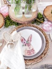 Charming Easter centerpieces and springy table decor ideas to get your Easter party hopping Part 34